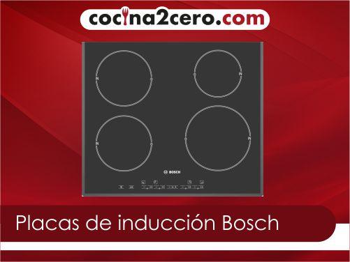 Las mejores placas de inducción Bosch del 2021