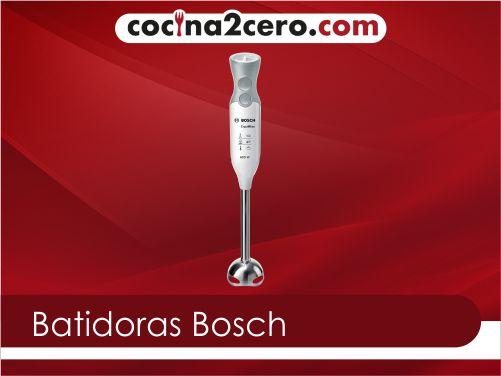 Las mejores batidoras Bosch de 2021